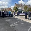 Les policiers d'Hazebrouck ont rendu hommage à Éric Masson