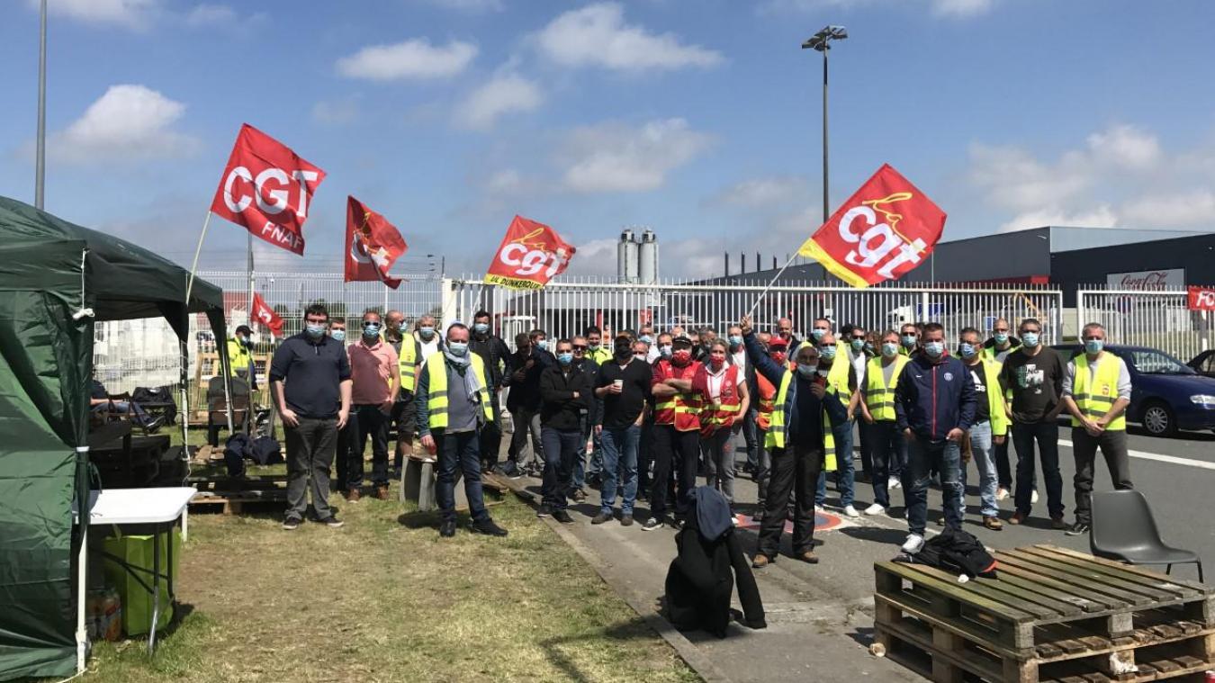 socx-bierne:-les-salaries-de-coca-cola-poursuivent-leur-greve-entamee-mardi