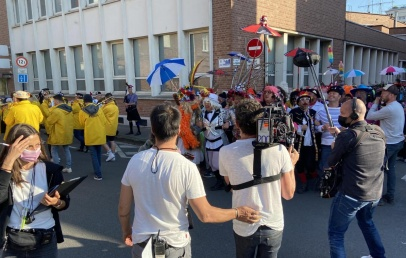 dunkerque-:-un-mini-carnaval-pour-le-tournage-du-long-metrage-«-un-homme-heureux-»